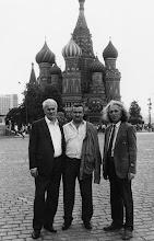Photo: Moskva 1988? Petar Djiranovic, ???, Jole Stanisić