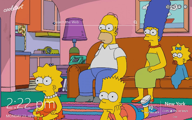 The Simpsons HD Wallpapers Cartoon Theme
