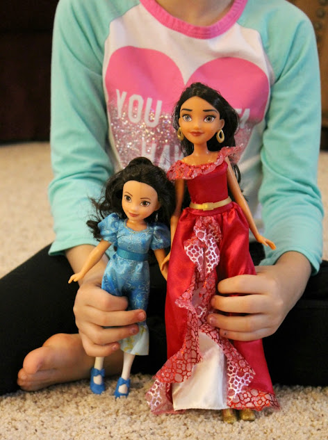 Fun Hasbro Toys - Disney Elena of Avalor and Princess Isabel dolls