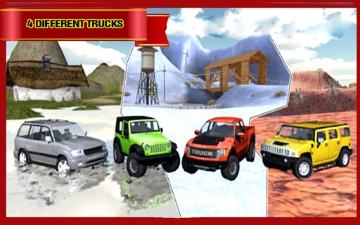 卡车越野车驾驶模拟器