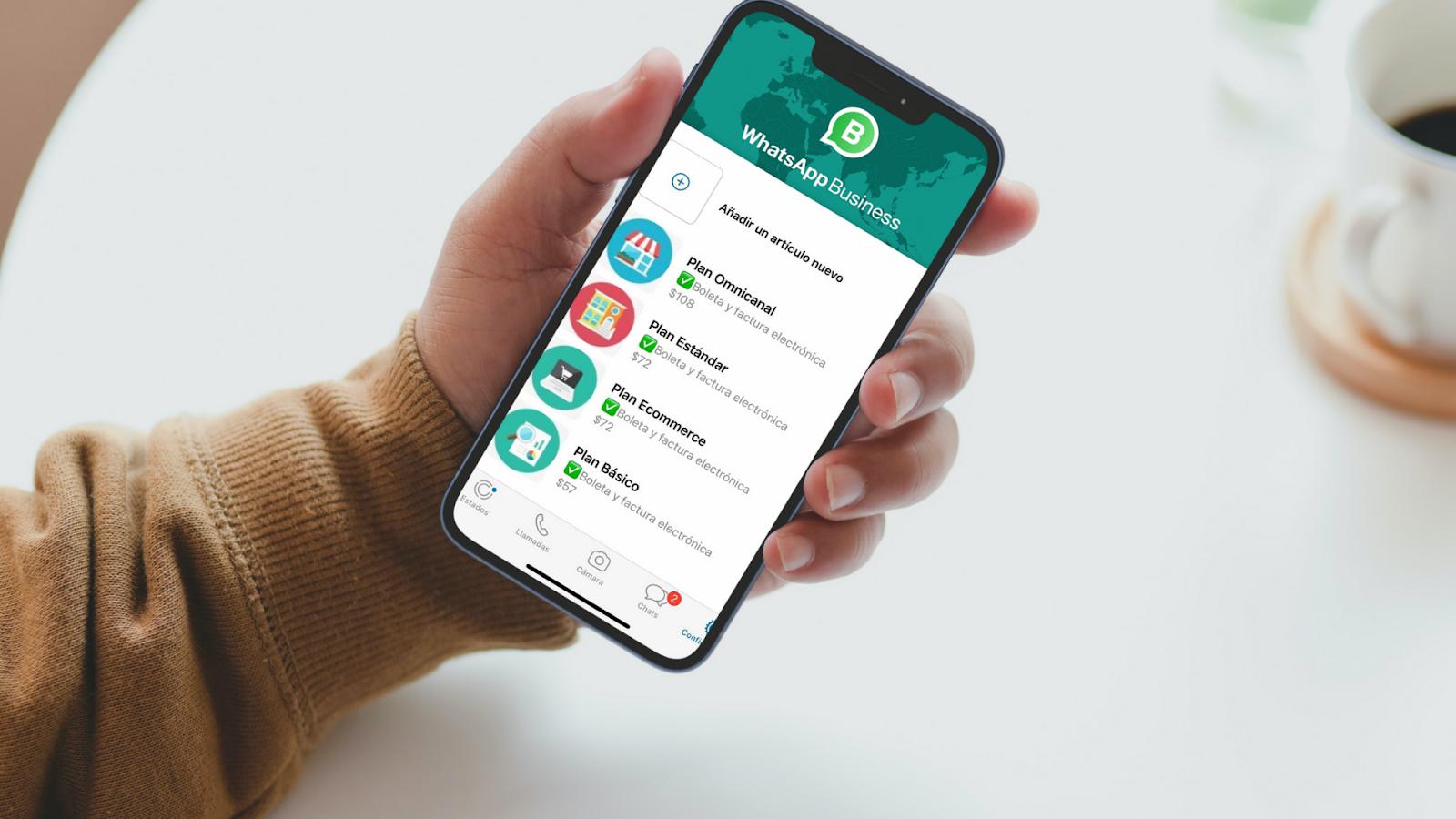 Catálogo de Whatsapp