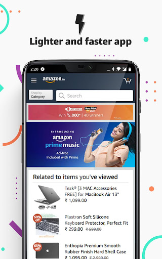 Amazon India Online Shopping and Payments 18.7.0.300 screenshots 2