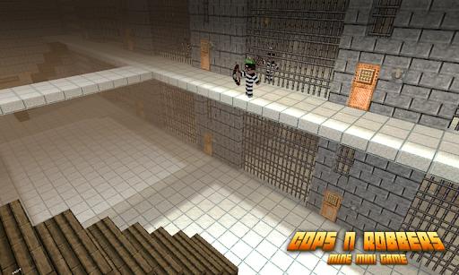 Cops N Robbers: Pixel Prison Games 1 screenshots 3