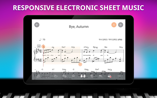 Piano School - Screenshots der Smart Piano Learning App 10