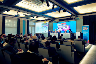 """Photo: Special Presentation and High-Level Debate """"Industry 4.0: Supercharging Productivity with Digital Technologies"""""""