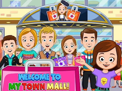 My Town : Shopping Mall MOD APK 1.00 [Characters Unlocked] 6