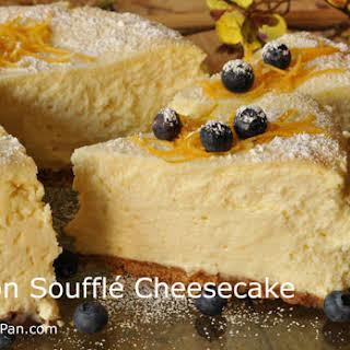 Lemon Souffle Cheesecake.