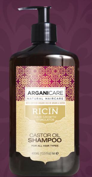 Shampoing Arganicare ricin
