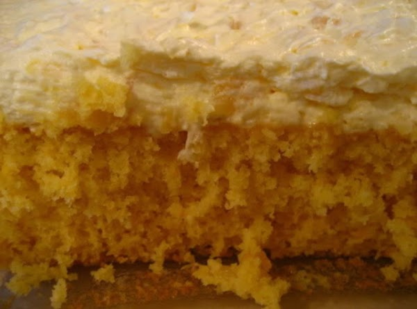 Orange Pineapple Cake Recipe