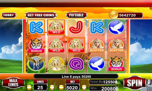 Golden Goddes Slot Game 2018