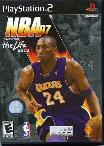 Video game:Sony PlayStation 2 NBA 07: Featuring The Life Vol. 2