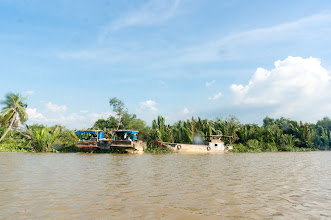 Photo: with them, boats are working place, and home...