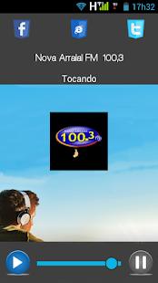 Rádio Arraial FM 100.3 Mhz - náhled