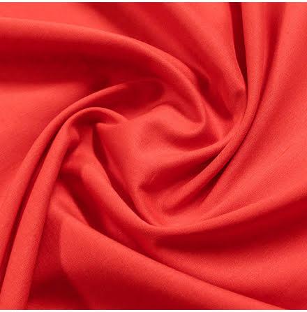 Bomullsvoile - röd
