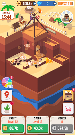 Idle Digging Tycoon 1.1.8 screenshots 2
