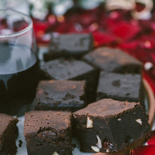 Red Wine Chocolate Brownies