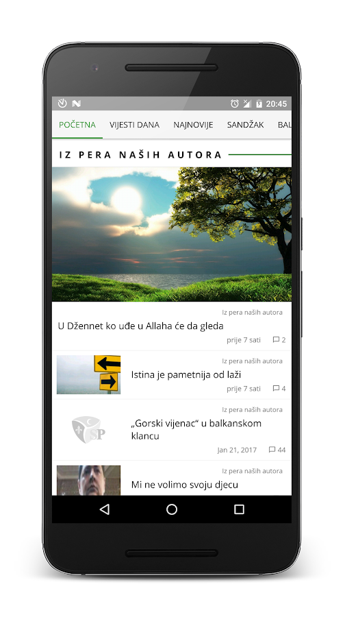 Sandžak PRESS- screenshot