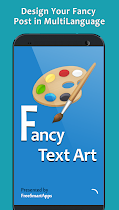 Fancy Text Art - Post Maker - screenshot thumbnail 01