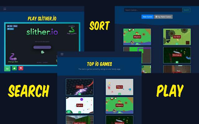 io games - all io games list