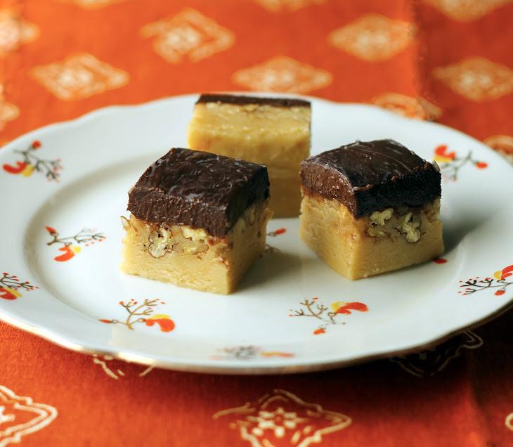 Irish Cream Fudge with Guinness Ganache Recipe