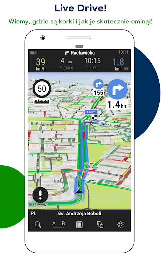 AutoMapa GPS navigation, CB Radio, radars, traffic 5.4.6 (2416) screenshots 2