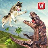 The Wolf vs Dinosaur Adventure