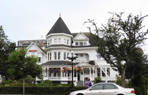 Gatsby Mansion in Victoria, British Columbia, is a boutique B&B experience in a historic Victorian mansion.