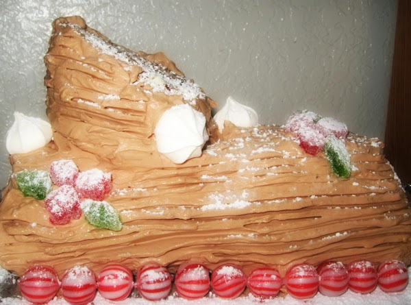Buche De Noel -- Yule Log Cake Recipe
