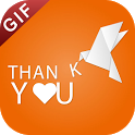 Thank You GIF : Thank You Stickers For Whatsapp icon