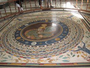 Photo: Ancient mosaic. If had the money, I would so recreate one of these in my house.