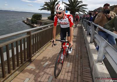 """Thomas De Gendt: """"Zo. Mezelf de hele Giro sparen om de tijdrit te winnen is bijna gelukt"""""""