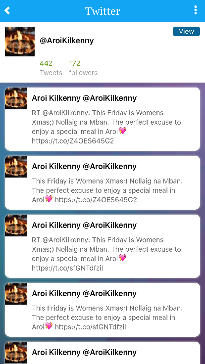 Aroi Kilkenny- screenshot