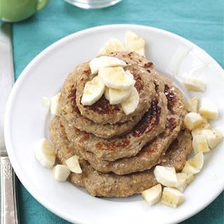 Banana-Oatmeal Pancakes