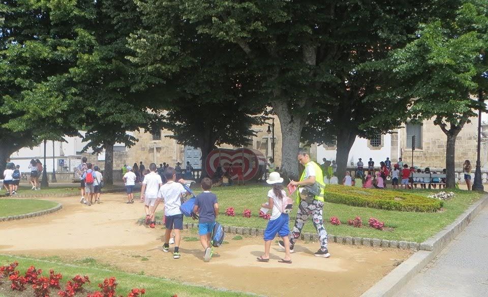 Crianças de Lamego exploram cidadania e património local