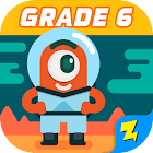 6th Grade Math: Fun Kids Games - Zapzapmath Home icon