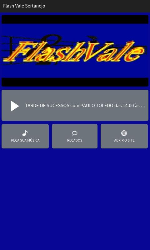 Flash Vale Sertanejo- screenshot
