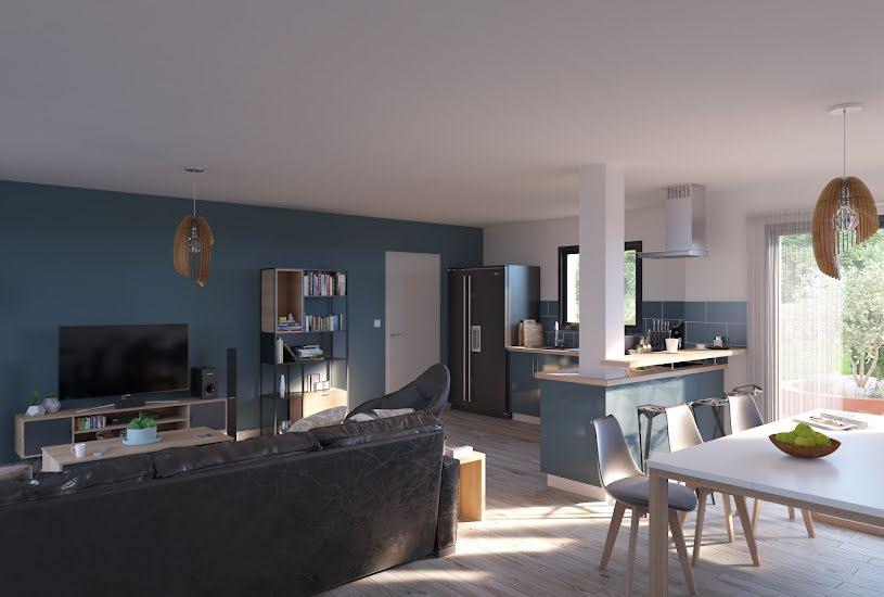 Vente Terrain + Maison - Terrain : 1000m² - Maison : 93m² à Channay-sur-Lathan (37330)