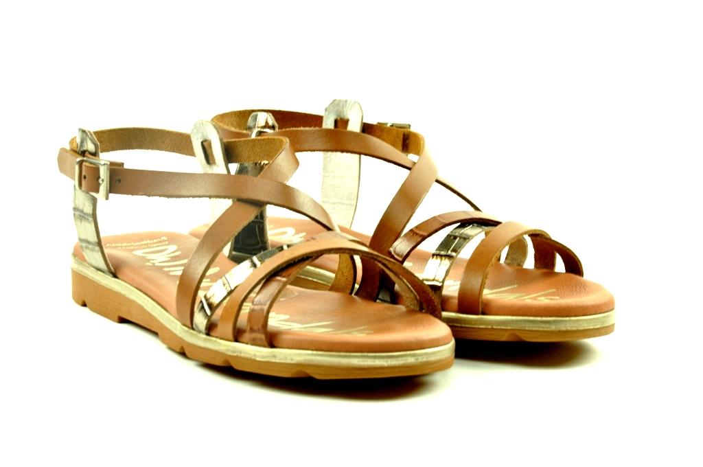 sandaaltje met fijne bandjes