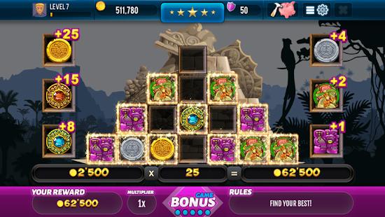 Aztec Lost Empire Slots - Casino Game Screenshot
