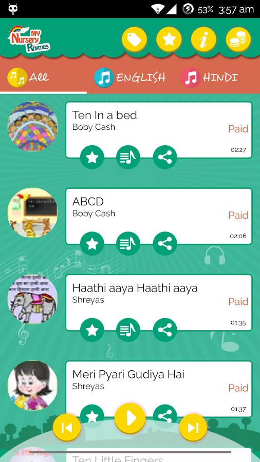 Nursery Rhymes- screenshot