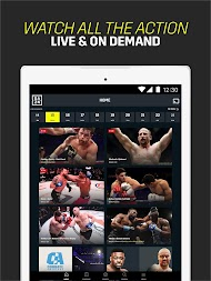 DAZN Live Fight Sports: Boxing, MMA & More APK screenshot thumbnail 7