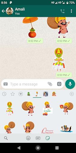Onam Stickers for Whatsapp screenshot 5