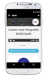 Zorgradio RAZO Delft- screenshot thumbnail