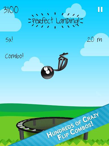 Stickman Trampoline FREE Backflip Jump Flip Master modavailable screenshots 6