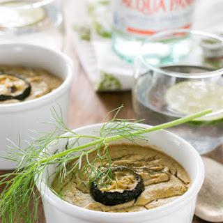"""Roasted Fennel, Zucchini, & Garlic Vegan """"Custard"""""""