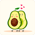 Cute Avocado Wallpapers icon