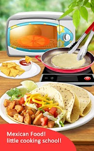 Mexican Food! Cooking School- screenshot thumbnail