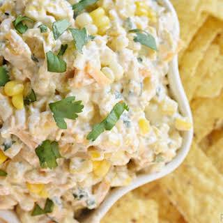 Tex-Mex Fresh Corn Dip.