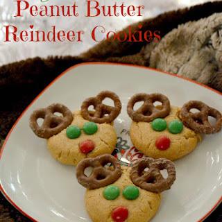Peanut Butter Reindeer Cookies {Gluten-Free}