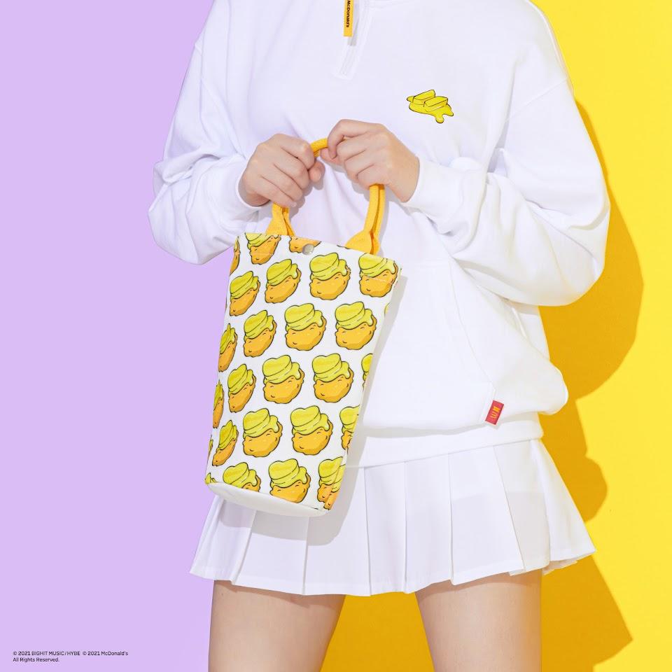 MELTING TOTE BAG (yellow)